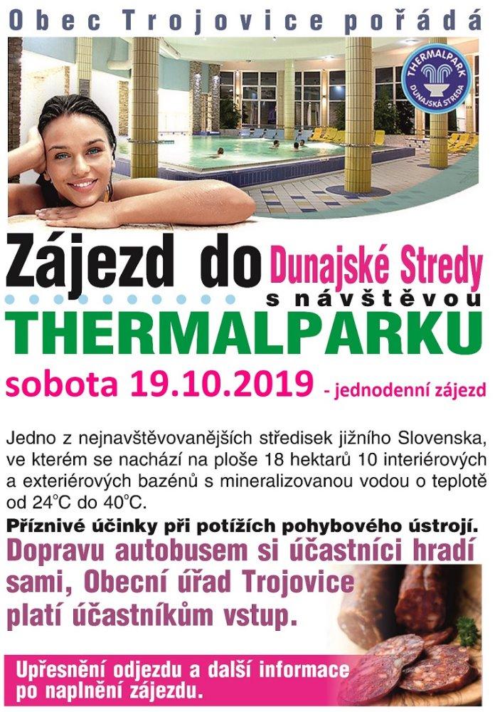 Zájezd do Dunajské Stredy
