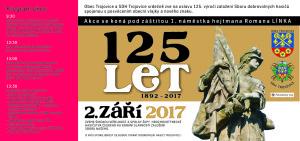 Oslavy 125. výročí SDH Trojovice